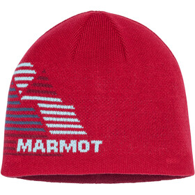 Marmot Novelty Reversible Beanie Gutter Team Red